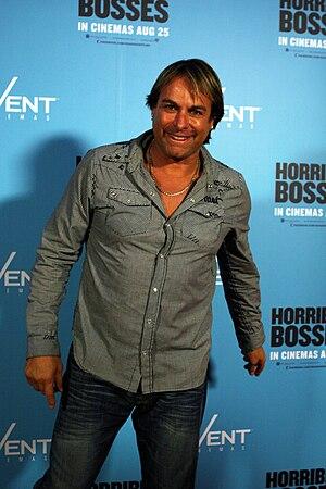 Warwick Capper - Capper at the premier of Horrible Bosses, 2011