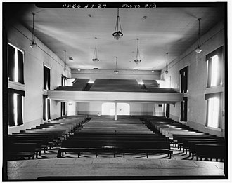 Wasatch Stake Tabernacle - Image: Wasatch tabernacle interior