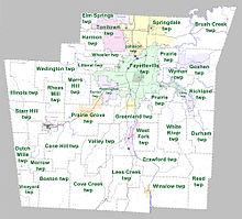 Washington County Arkansas Wikipedia - Counties in arkansas map