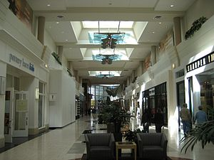 Washington Square (Oregon) - Interior of the 2005 addition