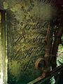 Wassiliy, son of Gawrilow Garvril Gavrila russisch orthodoxes Kreuz, Rückseite originale deutsche Schreibweise.jpg