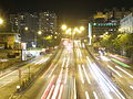 Waterloo Road, Hong Kong at night.JPG