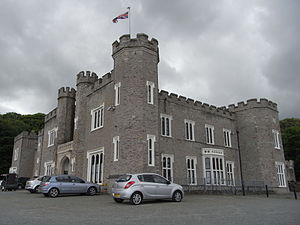 Watermouth Castle - Watermouth Castle, two principal fronts