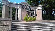 Waul's TX Legion Monument, Vicksburg National Military Park, 7-20-13