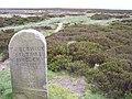 Waymarker, Rombalds Moor - geograph.org.uk - 18006.jpg