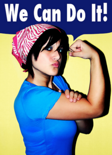 We Can Do It - Self Portrait Poster.PNG