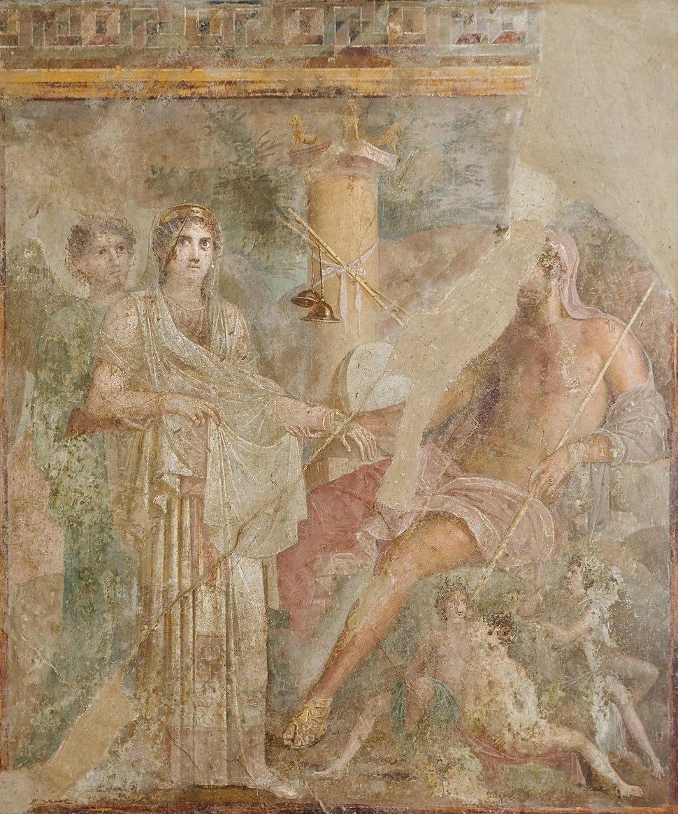 Wedding Zeus Hera MAN Napoli Inv9559