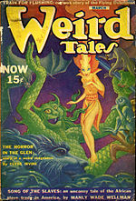 Weird Tales cover image for March 1940