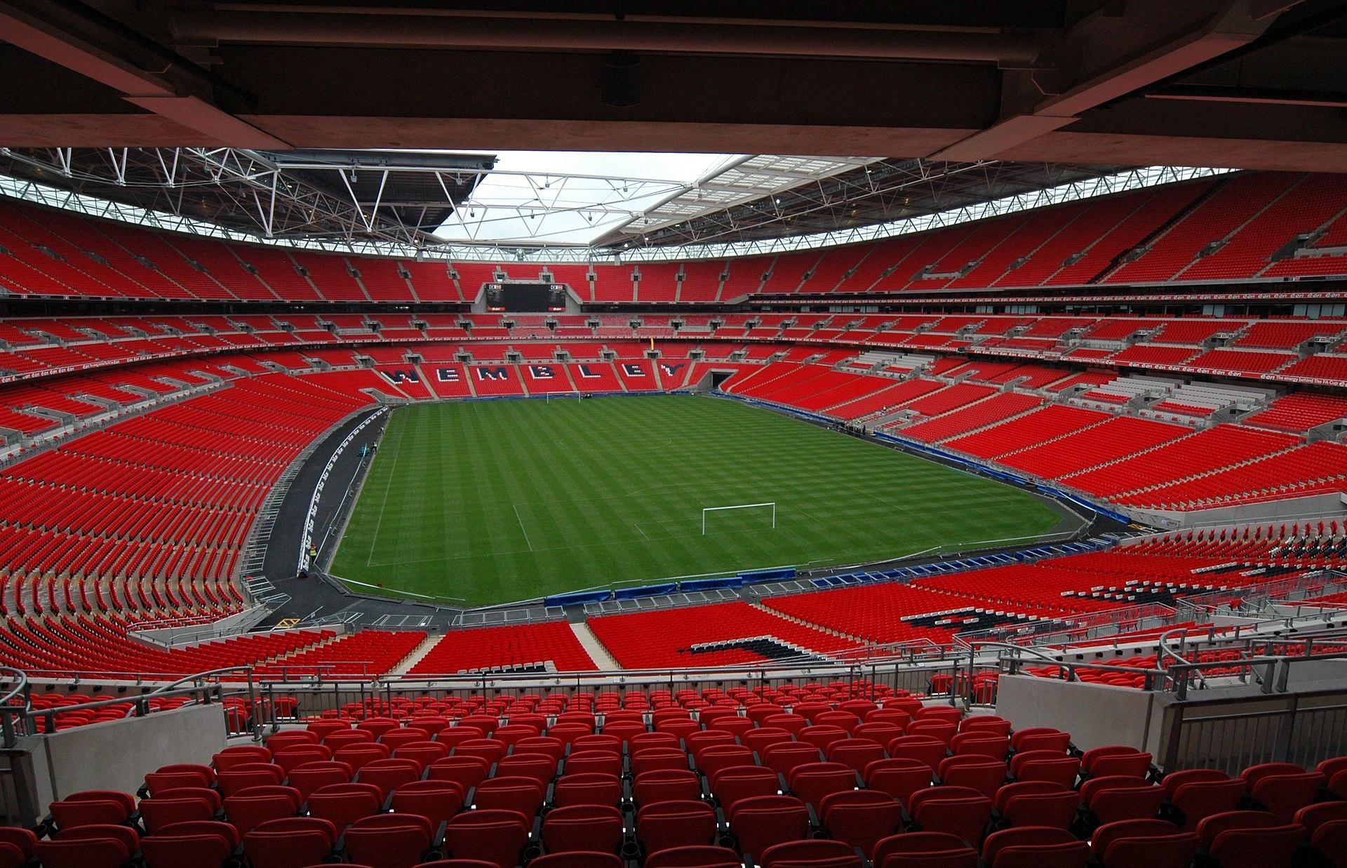 Football Stadiums - Wembley Stadium, London