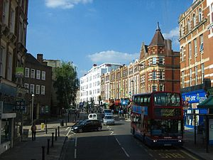 West Hampstead - Image: West Hampstead 3