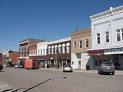 Downtown West Liberty, Iowa
