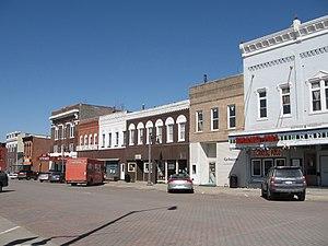 West Liberty, Iowa - Downtown West Liberty, Iowa