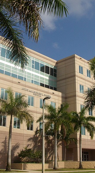 Nova Southeastern University - Farber West Hall.