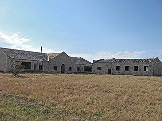 Wheatland, New Mexico - Wheatland School (abandoned)