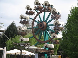 Zamperla - Image: Wheel of the Pioneers Minitalia Leolandia Park