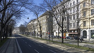Vienna Ring Road - Image: Wien Schubertring a