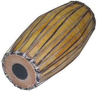 Mridangam percussion instrument from India