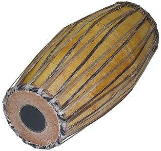 Mridangam - Image: Wiki mridangam