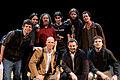 Wikimania 2009 - Richard Stallman en el teatro Alvear con asistentes (16).jpg