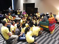 Wikimania 2015-Wednesday-Volunteers at Wikimania (8).jpg