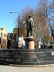 Statue of William Ewart Gladstone