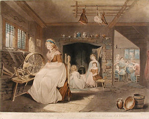 William Ward (engraver) - Industrious Cottagers (1801)