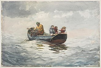The Fog Warning - Image: Winslow Homer Crab Fishing