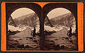 Winter among the Alleghenies, under the track at horseshoe, on the P. R. R, by R. A. Bonine.jpg