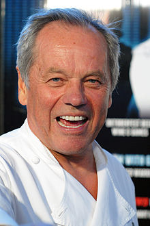 Wolfgang Puck - the cool, friendly, fun, enchanting,  actor, chef,   with Austrian roots in 2020