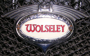 Wolseley Motors - Image: Wolseley illuminating radiator badge
