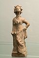 Woman dressed in chiton and himation, Hellenistic small terracottas. Prague NM.H10 1753, 151650.jpg