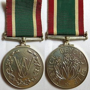 Royal Voluntary Service - Image: Women's Royal Voluntary Service Medal 1961