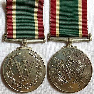 Womens Royal Voluntary Service Medal Award