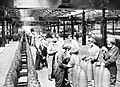 Women at work during the First World War- Munitions Production, Chilwell, Nottinghamshire, England, UK, c 1917 Q30014.jpg