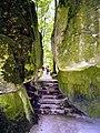 Wonsees, Felsengarten Sanspareil, Fels der Liebe und Pansitz (01).jpg