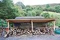 Woodchopping area, CAT - geograph.org.uk - 1521583.jpg