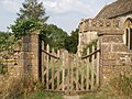 Wooden gateway - geograph.org.uk - 195887.jpg