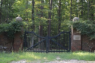 Woodlawn Historic and Archeological District - Gateway to the plantation