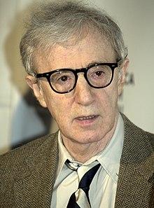 Director y actor de cine Woody Allen