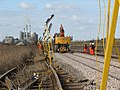 Work on the line between level crossings A39 and A38 - geograph.org.uk - 1754181.jpg