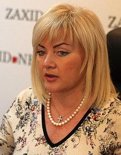 Oksana Bilozir Ukrainian politician and musician