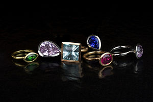 Wright & Teague Delphi Rings