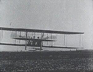 Wilbur Wright und seine Flugmaschine (film) - Image: Wright movie still