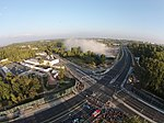 Wyburzanie komina na Demokratycznej Łódź Górna.jpg