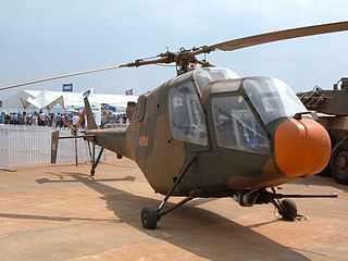 Atlas XH-1 Alpha prototype attack helicopter