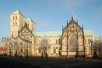Münster Cathedral - St.-Paulus-Dom from the Domplatz