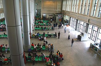 Xining railway station - Image: Xining railway station indoors