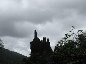 Yana, India - Yana rocks in North Canara