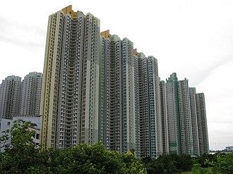 Public housing estates on Lantau Island - Yat Tung (II) Estate
