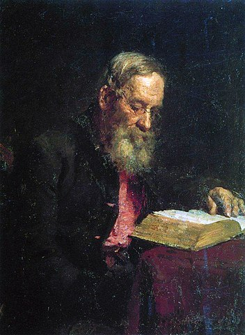 Портрет Ефима Васильевича Репина. 1879